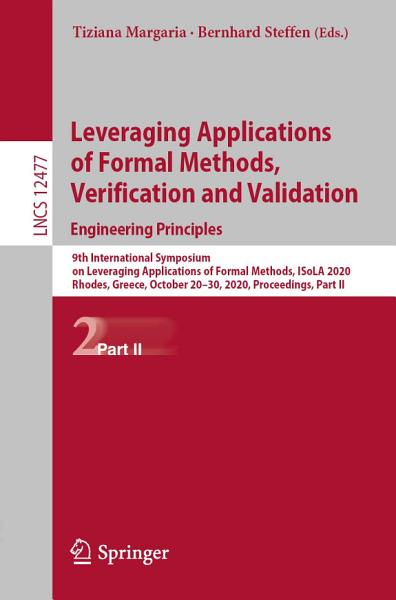 Leveraging Applications Of Formal Methods Verification And Validation Engineering Principles