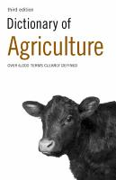Dictionary of Agriculture PDF
