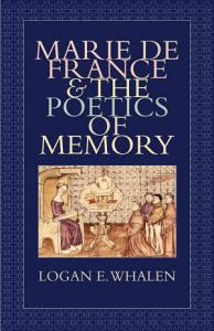 Marie de France and the Poetics of Memory PDF