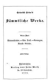 Heinrich Heine's sämmtliche werke: Band 4