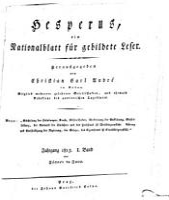 Hesperus PDF