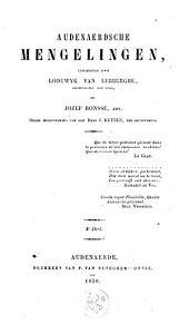 Audenaerdsche mengelingen: Volume 4