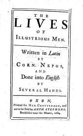 The Lives of Illustrious Men