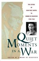 Quiet Moments in a War PDF
