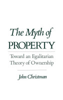 The Myth of Property PDF