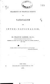 Fragments of Political Science on Nationalism and Internationalism