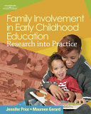 Family Involvement in Early Childhood Education  Research into Practice PDF