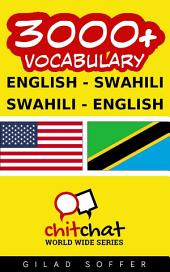 3000+ English - Swahili Swahili - English Vocabulary