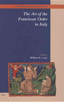 The Art of the Franciscan Order in Italy PDF