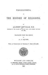 Prolegomena of the History of Religions