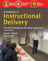 Foundations of Instructional Delivery  Fire and Emergency Services Instructor I PDF