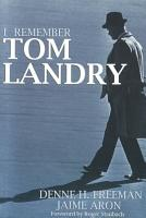 I Remember Tom Landry PDF