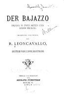 Der Bajazzo PDF