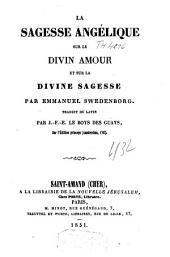 La sagesse angélique sur le divin amour et sur la divine sagesse