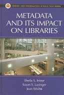 Metadata and Its Impact on Libraries PDF