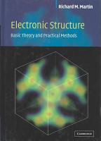 Electronic Structure PDF