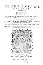 Officiorum libri tres