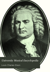 University Musical Encyclopedia: Great composers