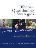 Effective Questioning Strategies in the Classroom PDF