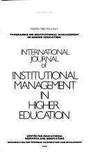 International Journal of Institutional Management in Higher Education PDF