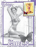 Grayscale Adult Coloring Books Gray Pin Up Girls Vol 2 PDF