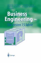 Business Engineering — Die ersten 15 Jahre