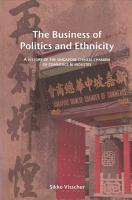 The Business of Politics and Ethnicity PDF