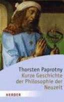 Kurze Geschichte der Philosophie der Neuzeit PDF