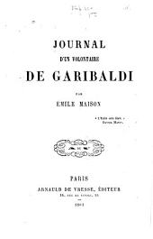 Journal d'un volontaire de Garibaldi