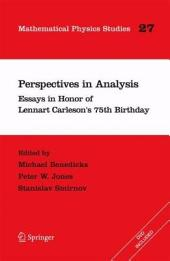 Perspectives in Analysis: Essays in Honor of Lennart Carleson's 75th Birthday