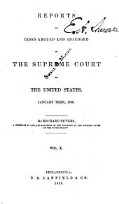 United States Reports: Cases Adjudged in the Supreme Court, Volume 35