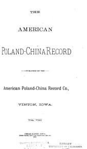 American Poland-China Record: Volume 8