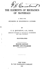 The Elements of Mechanics of Materials: A Text for Students in Engineering Courses