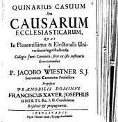 Quinarius Casuum Seu Causarum Ecclesiasticarum