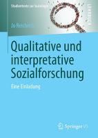 Qualitative und interpretative Sozialforschung PDF