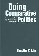 Doing Comparative Politics Book