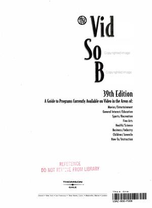 Video Sourcebook