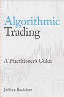 Algorithmic Trading Book PDF