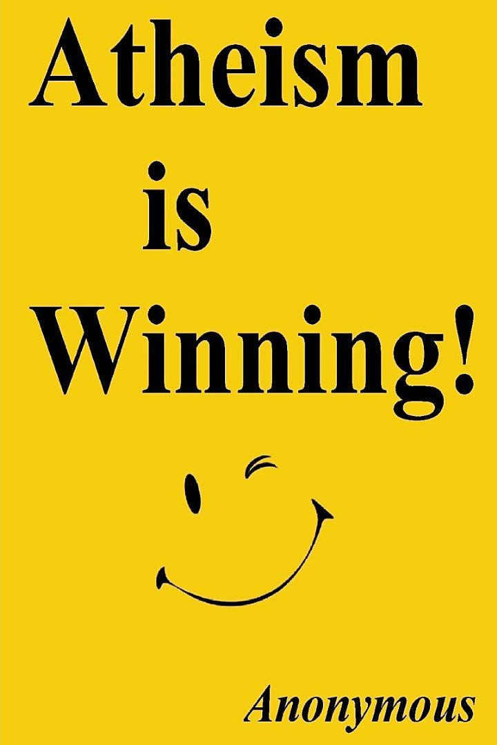 Atheism is Winning!