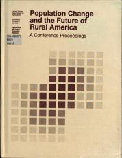Population Change and the Future of Rural America PDF