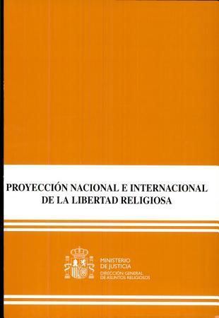 Proyecci  n nacional e internacional de la libertad religiosa PDF