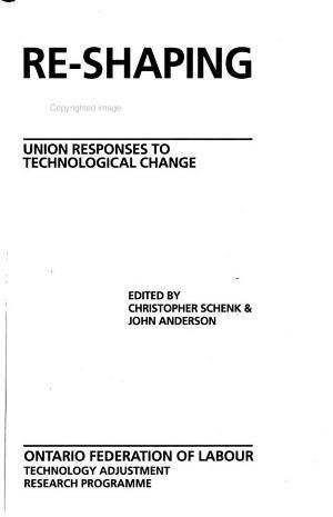Re shaping Work PDF