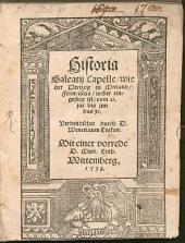 Historia, wie der Hertzog zu Meiland Frannziskus wieder eingesetzt ist ...