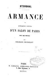 Armance ou quelques scènes d'un salon de Paris