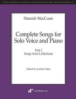 Complete Songs for Solo Voice and Piano  Part 2 PDF