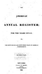 American Annual Register: Volume 2; Volume 4