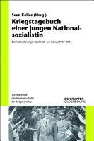 Kriegstagebuch einer jungen Nationalsozialistin PDF