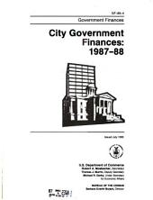 City Government Finances in ...: Volumes 2-5