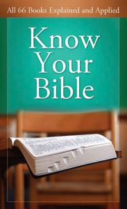 Know Your Bible Book