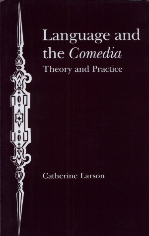 Language and the Comedia